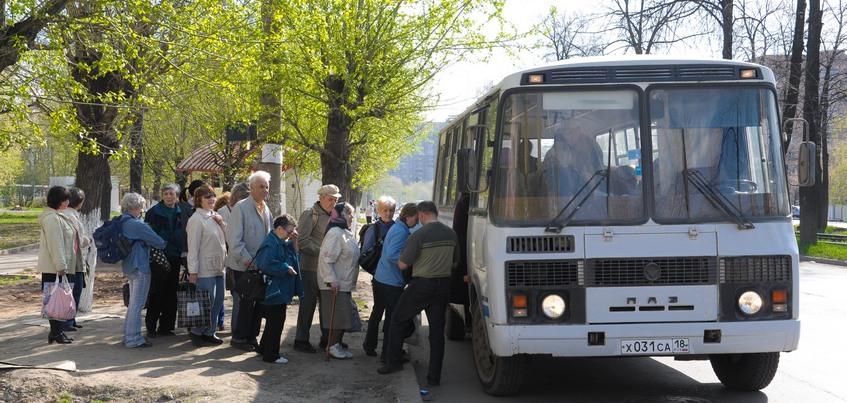 Пять дополнительных дачных маршрутов открыли в Ижевске