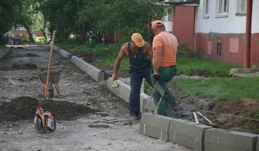 В Ижевске начался ремонт дворов