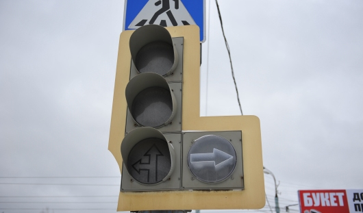 В Ижевске на перекрестке улиц Майской и Щорса не работает светофор