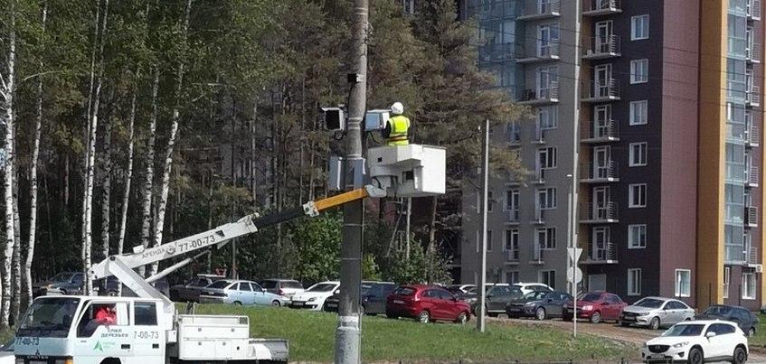 Впервые в Ижевске: система «Автодория» появилась на улице 10 лет Октября