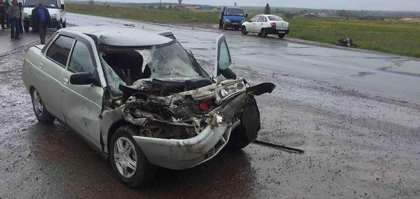 Двух детей доставили в больницу после ДТП на трассе Ижевск – Ува