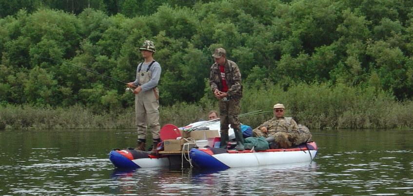 Сезон навигации и рыбалки начался на водоемах Удмуртии