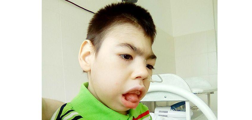 Нужна помощь: 8-летнему Антону с пороком головного мозга нужен гамак для купания