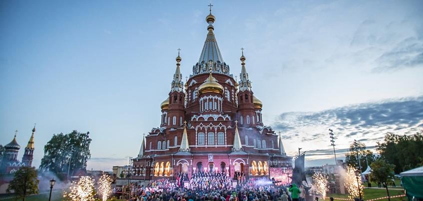 Фоторепортаж: в Ижевске прошел Большой хоровой собор