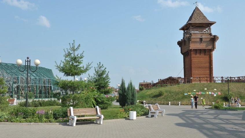 Посетители зоопарка Ижевска могут подняться на смотровую башню