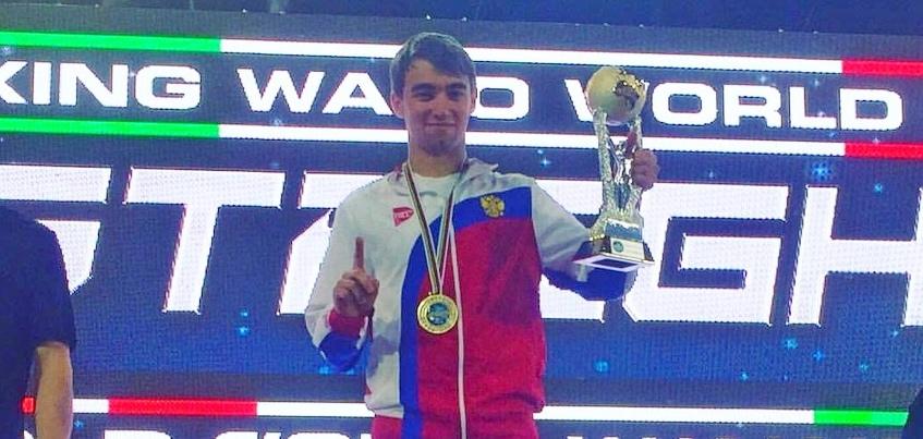 Кикбоксер из Ижевска завоевал два золота на Кубке мира в Италии
