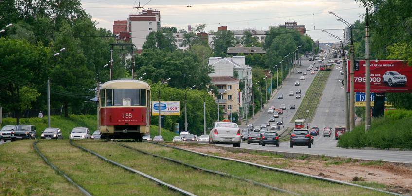 Движение трамваев в Ижевске восстановлено