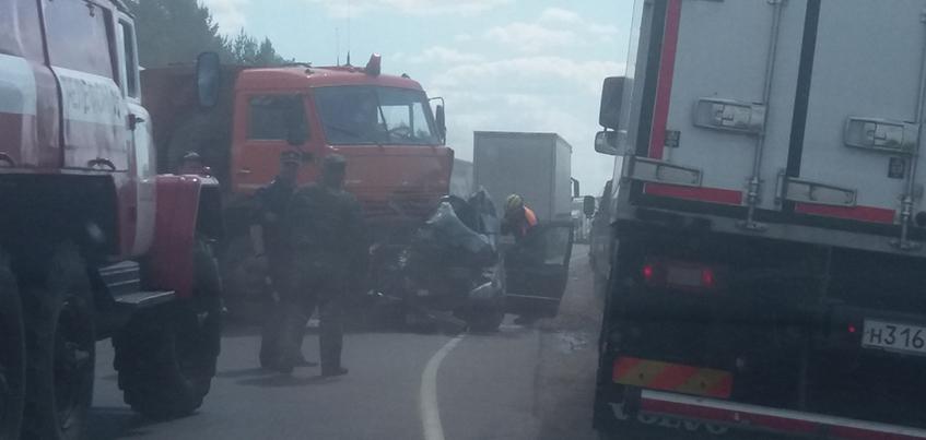 Два человека погибли при ДТП около деревни Юськи в Удмуртии