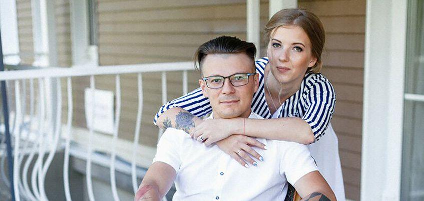 Ижевские молодожены: поженились в день ВДВ