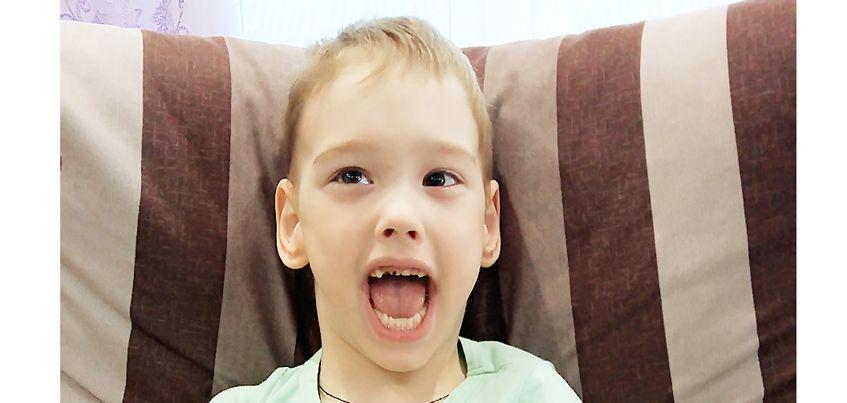 Нужна помощь: 5-летний Ваня с тяжелой формой ДЦП не может выйти на улицу