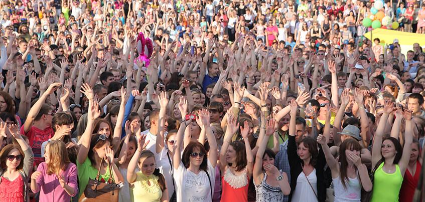 Концерт 50 групп, фестиваль красок и флешмобы: как пройдет День молодежи в Ижевске
