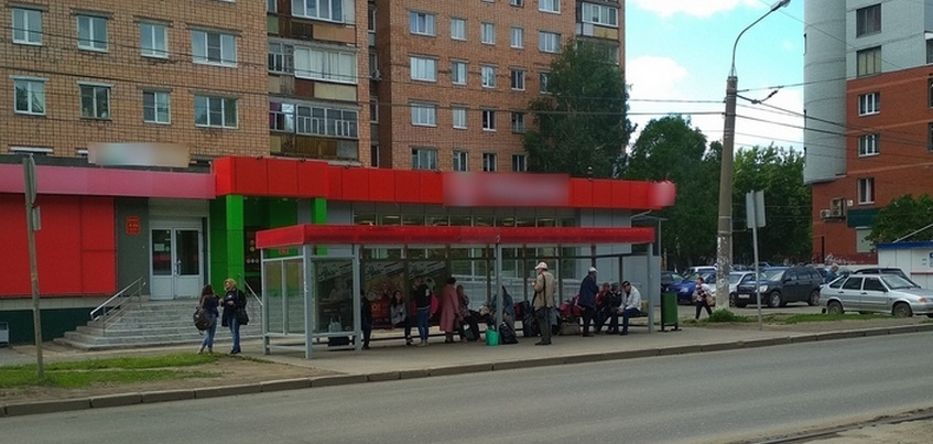 Солнечная батарея пропала с остановки на улице Гагарина в Ижевске