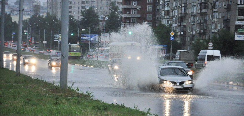 Грозы и усиление ветра ожидают в Ижевске