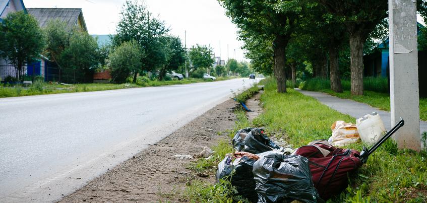 Год под знаком мусора: как в Ленинском районе Ижевска боролись со свалками в частном секторе