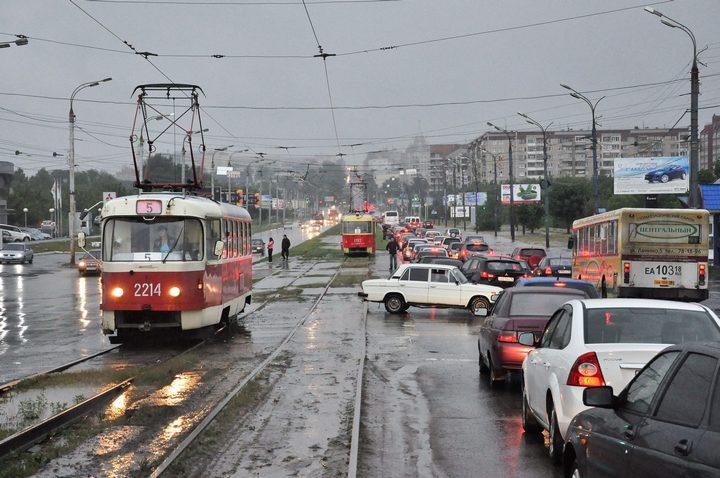 Маршрут трамвая №5 временно изменят в Ижевске