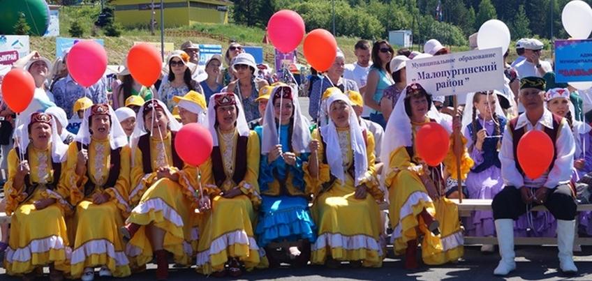 30 июня в Ижевске прошел национальный татарский праздник Сабантуй