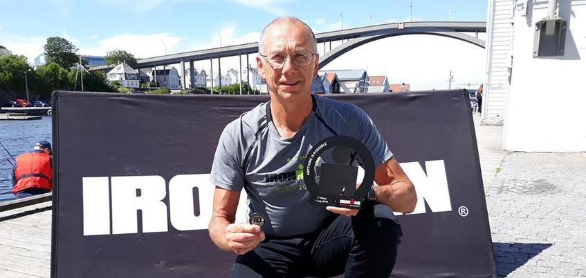 60-летний уроженец Удмуртии стал победителем гонки Ironman в Норвегии