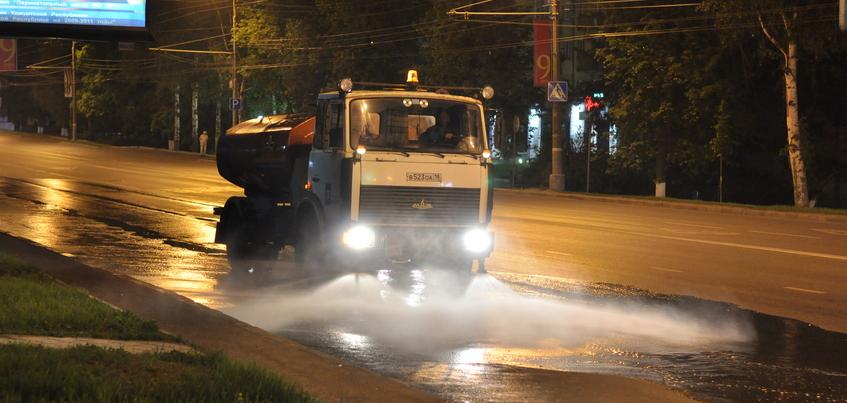 Подрядчика по содержанию дорог сменили в Октябрьском районе Ижевска