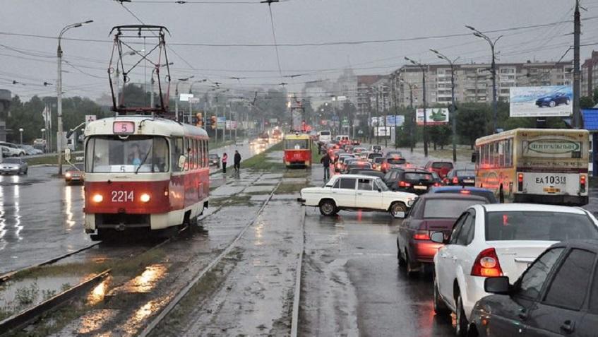 В Ижевске временно закроют движение трамвая №5