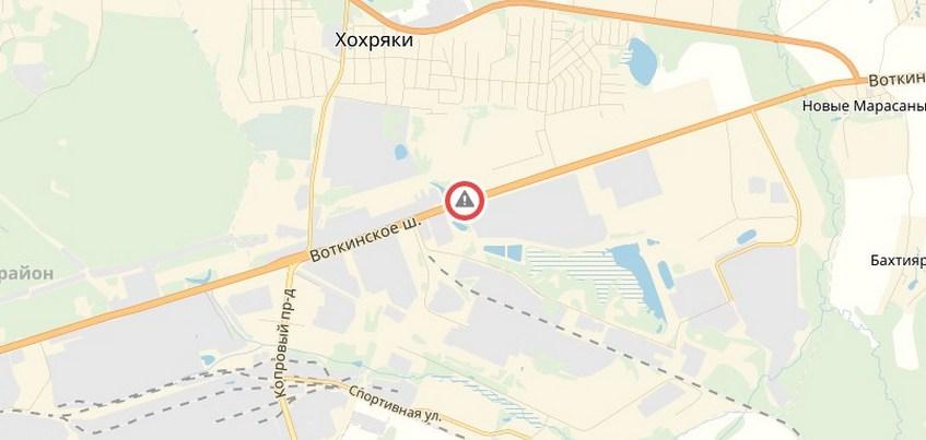 Новый светофор установят на Воткинском шоссе в Ижевске