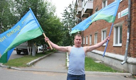 В Ижевске в день ВДВ развернули полевую кухню