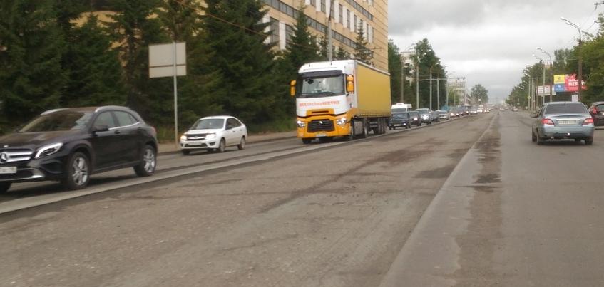 Ремонт улицы Промышленной начался в Ижевске