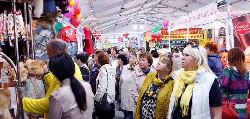 У ТРК «Столица» в Ижевске открылась «Всероссийская ярмарка»