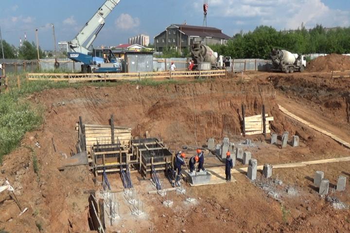 Дом для полицейских начали строить в Ижевске