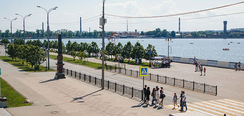 Погода в Ижевске: выходные будут ветреными и теплыми