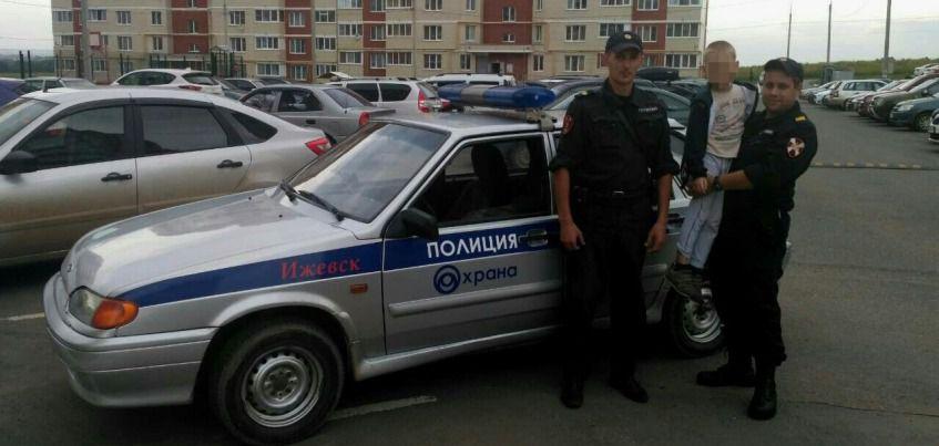 8-летнего мальчика помогли найти сотрудники Росгвардии в Ижевске