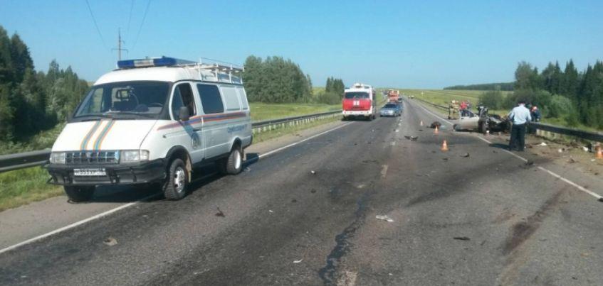 Два человека погибли в ДТП в Глазовском районе Удмуртии