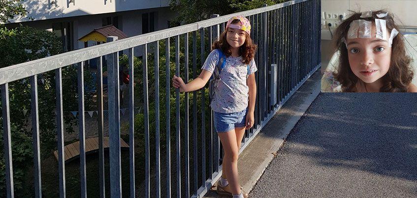 Нужна помощь: у 7-летней Ани Кривенко снова начались приступы эпилепсии