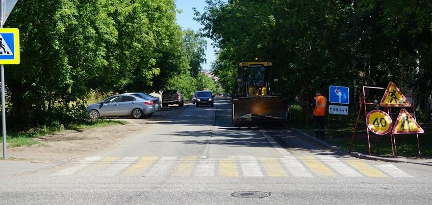 Дорожники начали ремонт улицы 7-й Подлесной в Ижевске