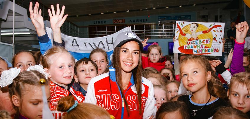 Чемпионка Олимпиады из Ижевска претендует на звание спортсменки года