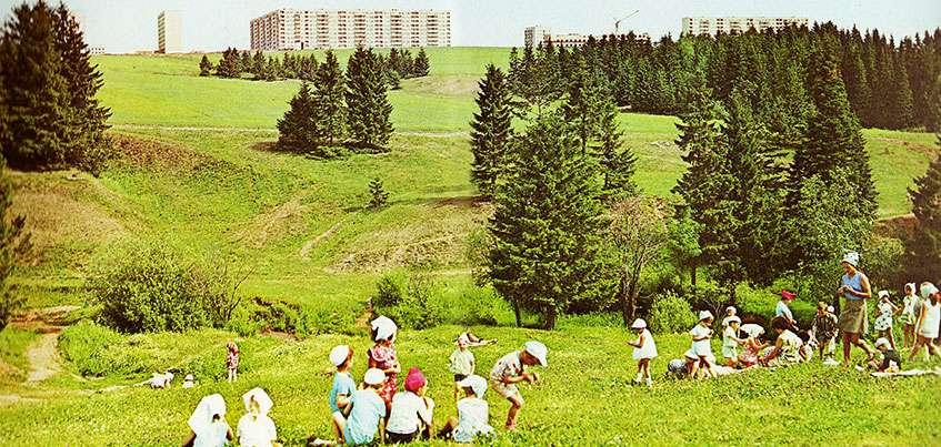 Окрошка на Воложке и прогулки под парусом: как жители советского Ижевска проводили лето