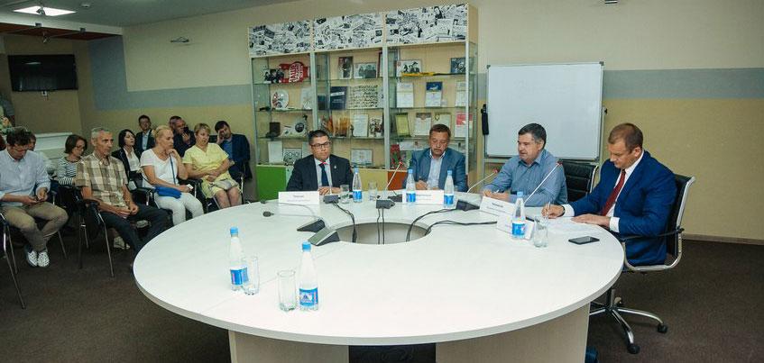 Вторая открытая встреча кандидатов на пост главы Ижевска пройдет в медиагруппе «Центр»
