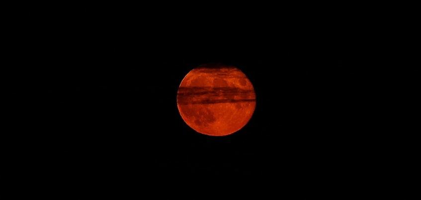 Жители Ижевска увидят «кровавую луну» в ночь на 28 июля