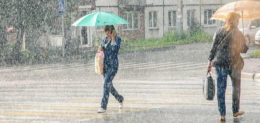 Погода в Ижевске: выходные будут дождливыми