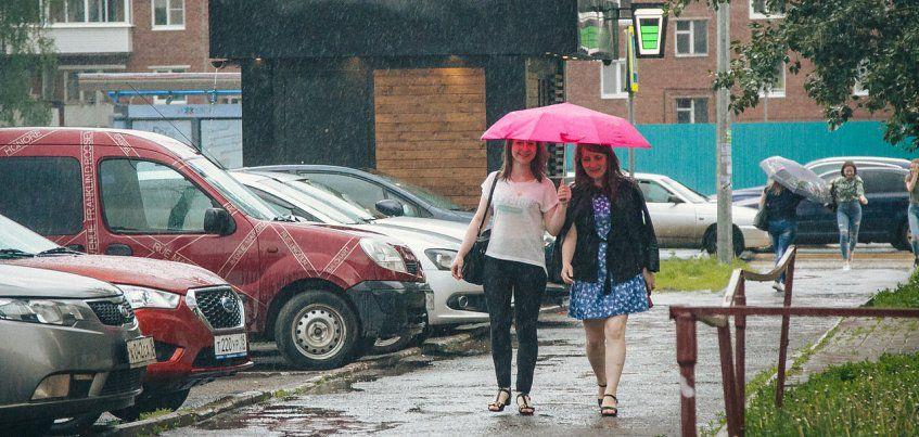 28 июля в Ижевске ожидаются дожди
