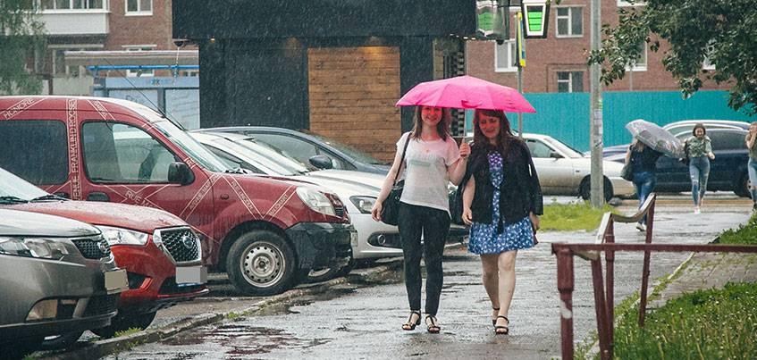 Погода в Ижевске: в рабочие дни горожан ждут похолодание и дожди