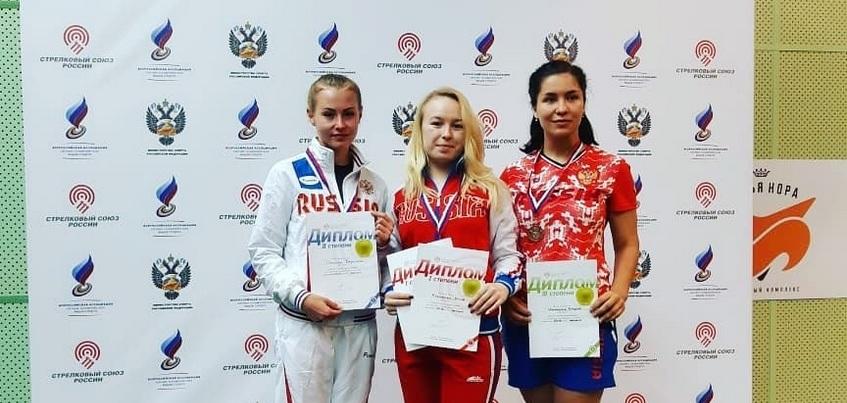 Стрелок из Ижевска победила на отборе к чемпионату мира