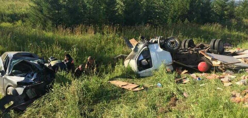 Очевидцев ДТП на границе с Пермским краем ищут в Удмуртии