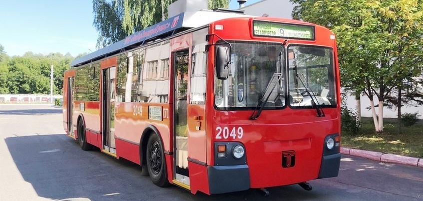 Модернизированный троллейбус выйдет на улицы Ижевска