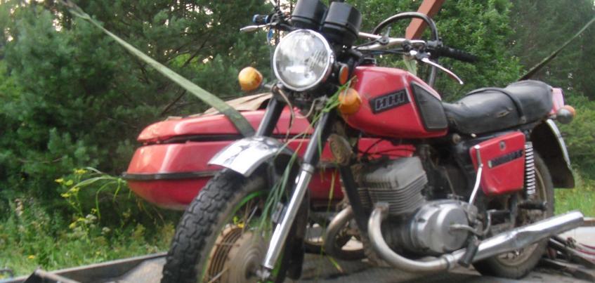 Мотоциклист погиб на дороге в Удмуртии