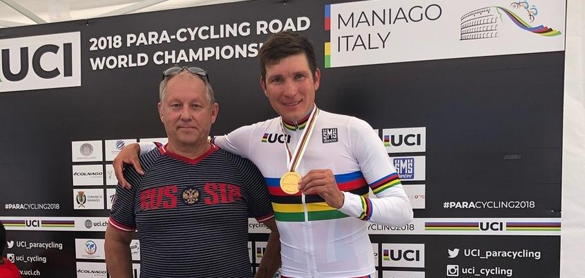 Паравелогонщик из Ижевска стал чемпионом мира