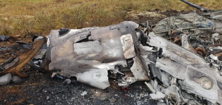 Житель Удмуртии погиб в авиакатастрофе в Красноярском крае