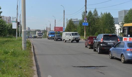 В Ижевске на перекрестке улицы Автозаводской и переулка Копрового изменили движение по полосам