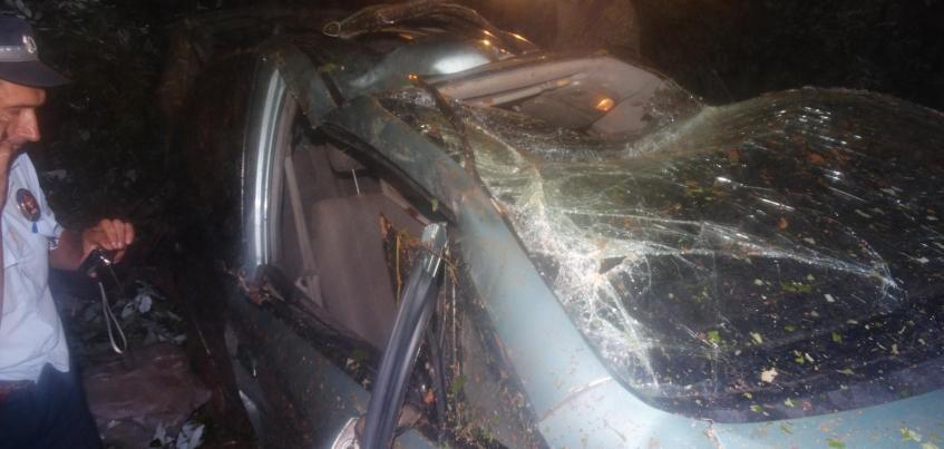 Водитель «Шевроле» погиб в ДТП в Юкаменском районе Удмуртии