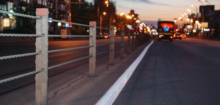 Есть вопрос: когда на новых дорогах в Ижевске появится разметка