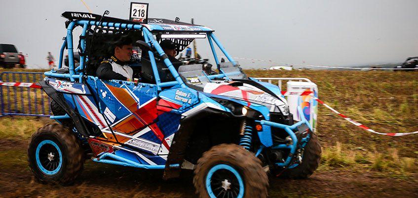 В Ижевске прошел этап квадрогонок Can-Am X Race